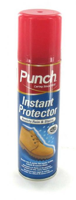 Punch Instant Leather Suede Waterproof Shoe Protector Spray 200ml - FREE P&P UK